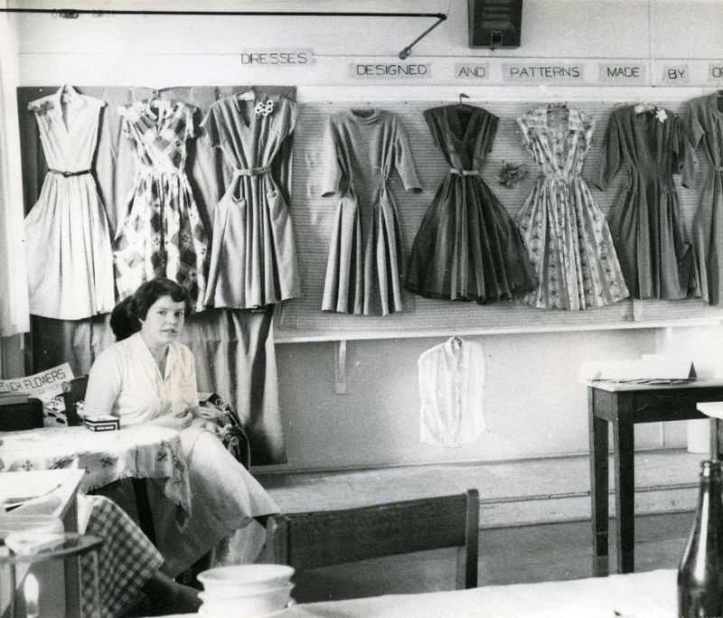 College Open Day 1955 - Needlework Section.jpg