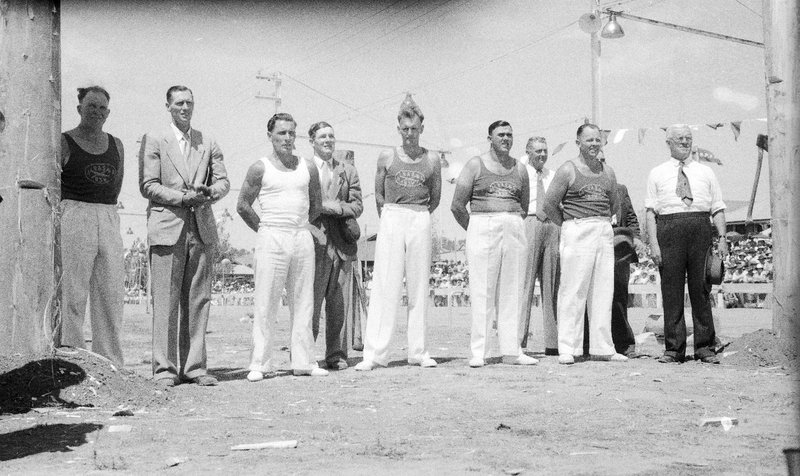 Royal Tour 1954 - Woodchoppers [RW1574.253].jpg