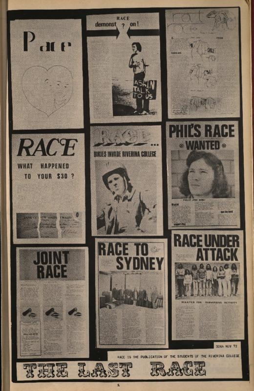 RACE (Vol. 1, No. 10)