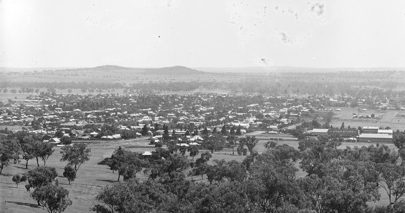 View of Wagga Wagga from Willans Hill