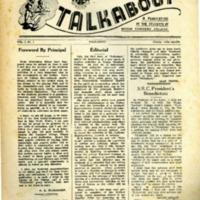 Talkabout, Vol. 1 No. 1