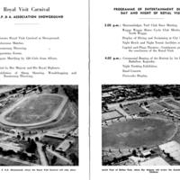 Riverina Royal Visit Souvenir Booklet, 1954