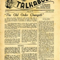 Talkabout, Vol. 4, No. 8