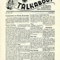 Talkabout, 18 May 1956