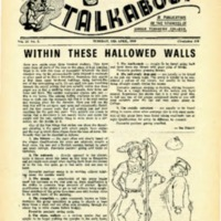 Talkabout, Vol. 23 No. 1