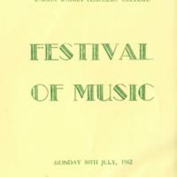 WWTC Festival of Music