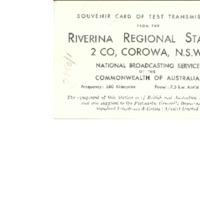 Riverina Regional Radio Station