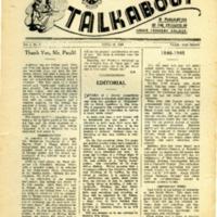 Talkabout, Vol. 2 No. 3