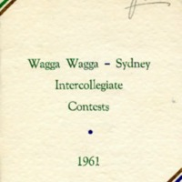 Intercollegiate Programme, 1961