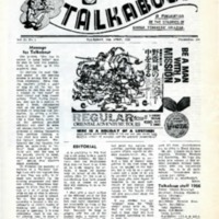Talkabout, Vol. 20 No. 1