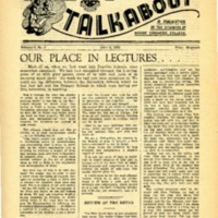 Talkabout, Vol. 5 No. 3