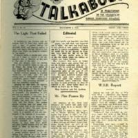 Talkabout, Vol. 2, No. 25