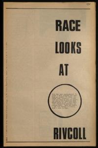RACE (Vol. 3, No. 15)