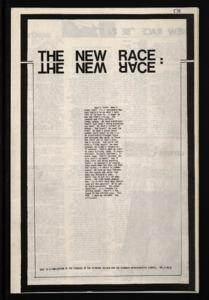 RACE (Vol. 5, No. 8)