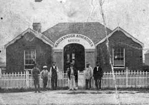 The Wagga Wagga Advertiser Office and Staff