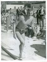 1958 - Bob Ford at Bendigo Olympic Swimming Pool.jpg
