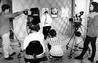 Bathurst television media students