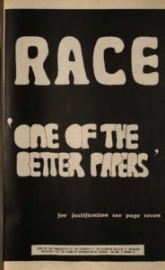 RACE (Vol. 2, No. 3)