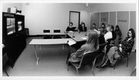 Bathurst staff utilising videoconference facilities