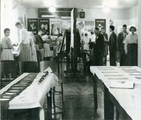 College Open Day 1955 - Social Studies Display.jpg